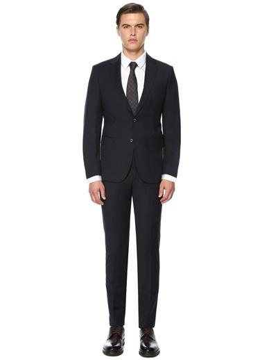 George Hogg George Hogg 7004152 Slim Fit Lacivert Takım Elbise Erkek Takım Elbise Lacivert